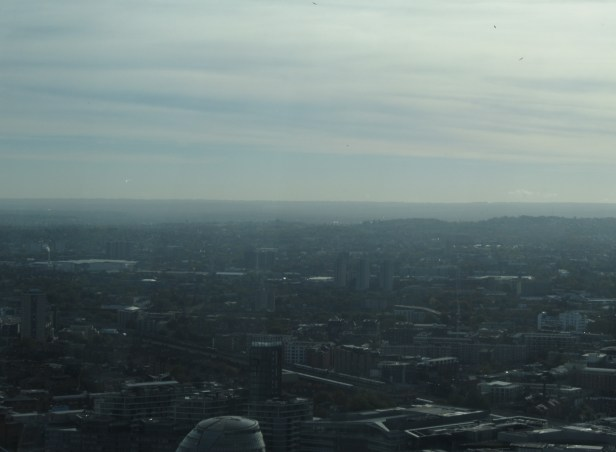 Brockley, Forest Hill and North Downs seen from Walkie Talkie Sky Garden