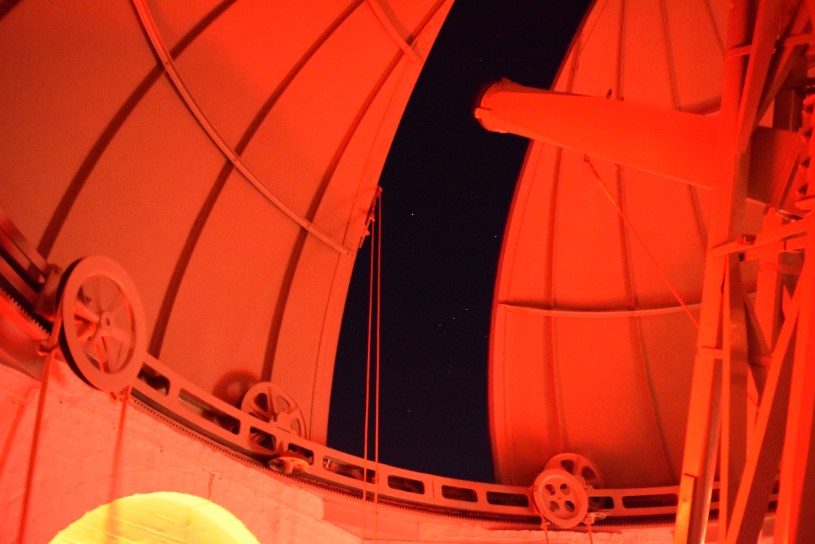 Northumberland telescope at the Institute of Astronomy in University of Cambridge