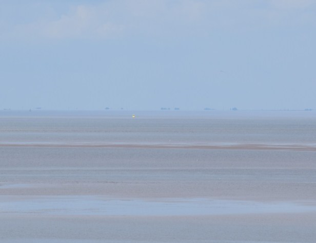 The Wash at low tide, view towards Holbeach