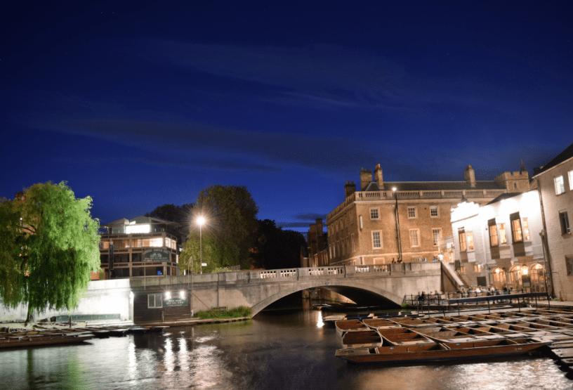 Cambridge Silver Street Bridge