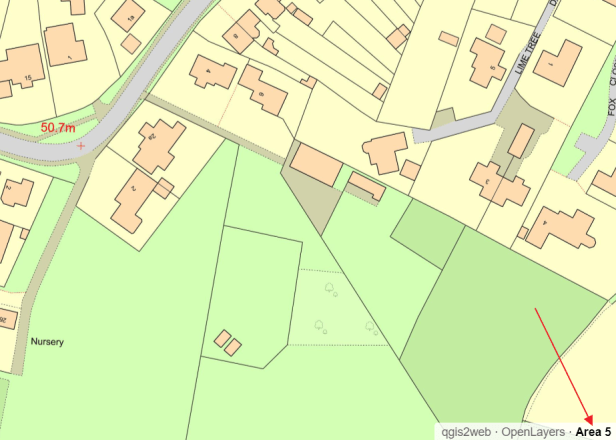 QGIS2web OpenLayers map title