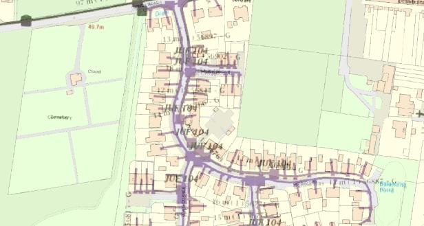 QGIS raster map overlay