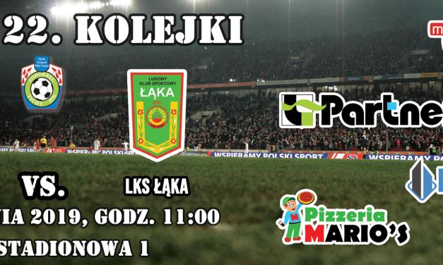 Mecz z LKS Łąka już o 11.00!