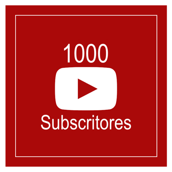 1000 Subscritores Youtube