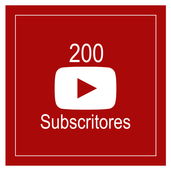 200 Subscritores Youtube