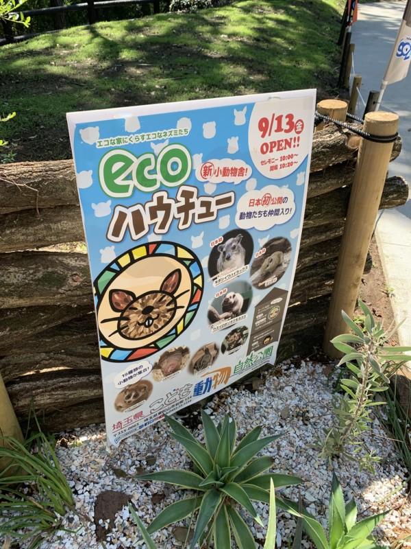 ecoハウチューのポスター