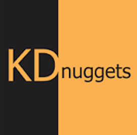 Logo for KD Nuggets - a go-to resource for all things data science and machine learning