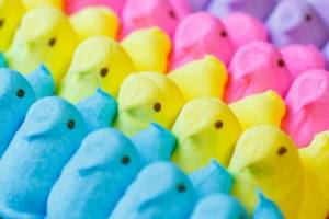 Image of peeps candies, used as symbolism of customer segmentation