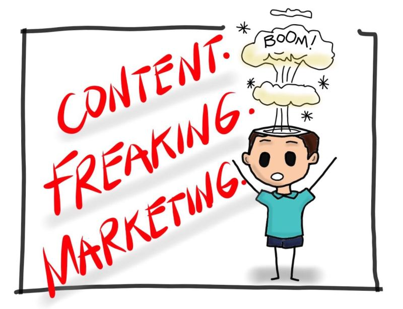 Content Freaking Marketing by MKTR.AI