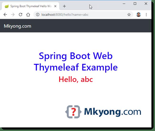 Spring Validation Example Mkyong