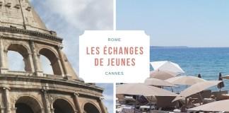 LES ECHANGES DE JEUNES AVEC LA MISSION LOCALES CANNES