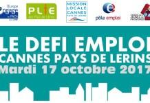 DEFI EMPLOI CANNES PAYS DE LERINS 2017