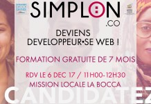 Recrutement Simplon Mission Locale Cannes