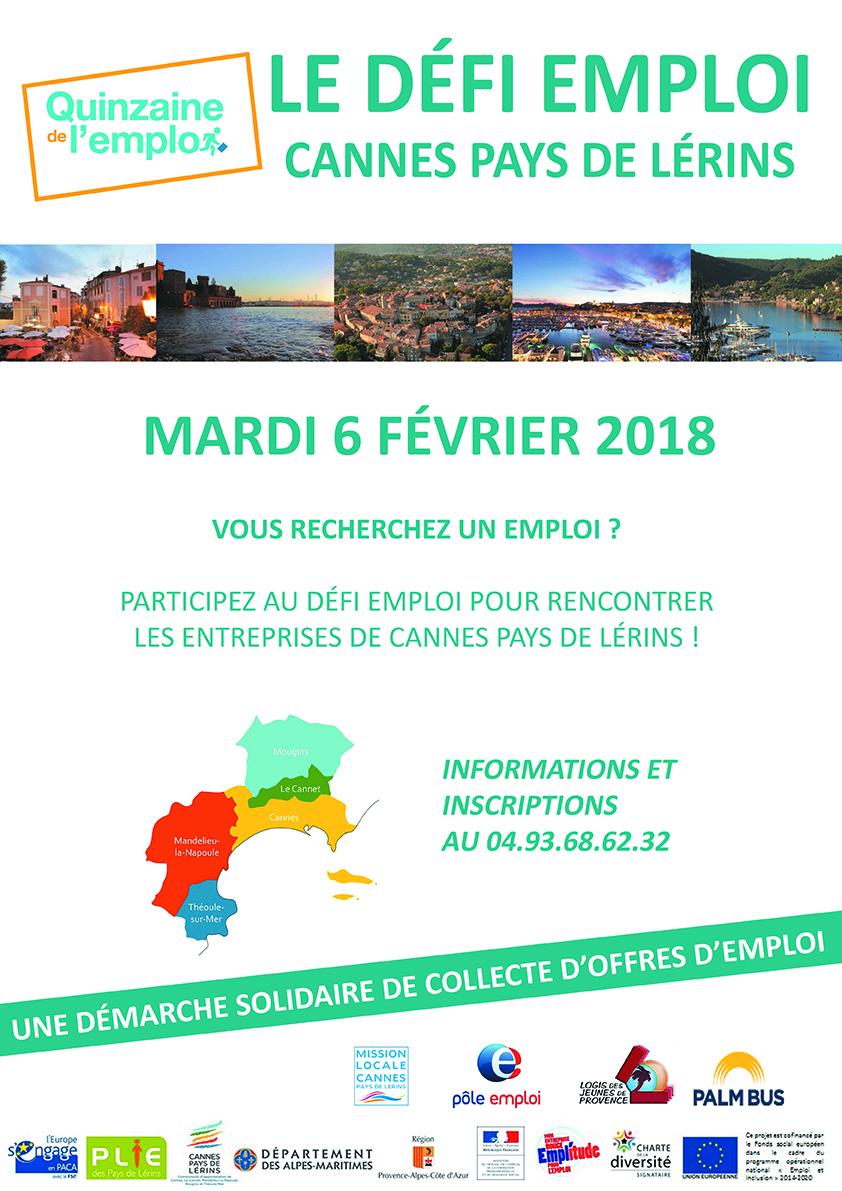 Défi Emploi Cannes Pays de Lérins 2018