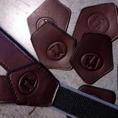 Fabrication bretelles en cuir