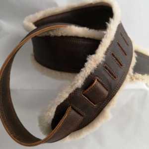 sangle de guitare en cuir confort originale fabriquée en France