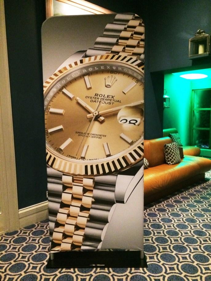 Deacons Rolex event display units