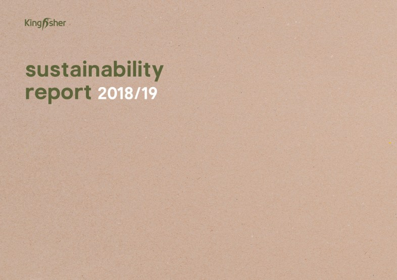 Sustainability Report 2019 front cover