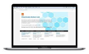 B&Q Chemicals website