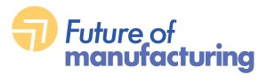 Future of Manufacturing logo created as part of a branding project.