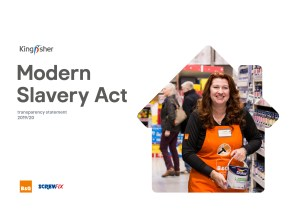 Kingfisher Modern Slavery Act statement 2020
