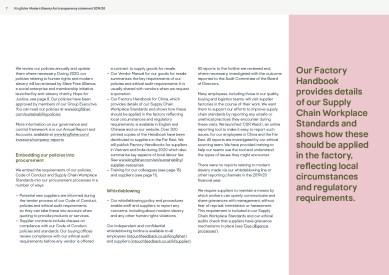 Kingfisher Modern Slavery Act statement 2020