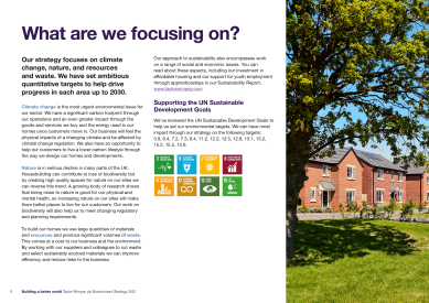 Taylor Wimpey Environment Strategy 2021 page 5