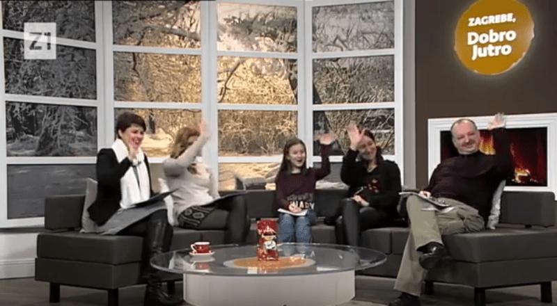 Predstavljanje udruge Mlada pera na Z1 TV