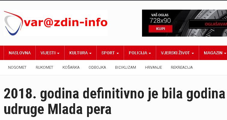 Varaždin-info: 2018. godina definitivno je bila godina udruge Mlada pera