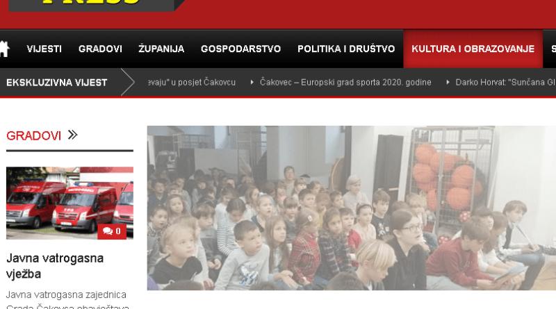 Međimurje Press: Predstavljanje slikovnice Vitezovi Proljetne livade