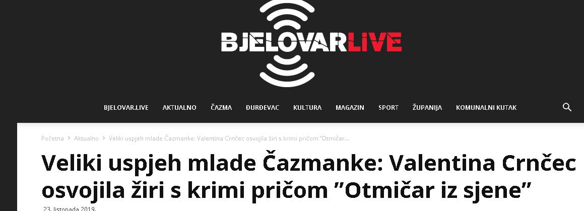 Bjelovar.live: Veliki uspjeh mlade Čazmanke