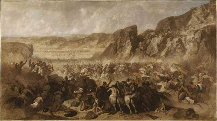 Episodio de la retirada de los 10.000 Jean Adrien Guignet (1816-1854)