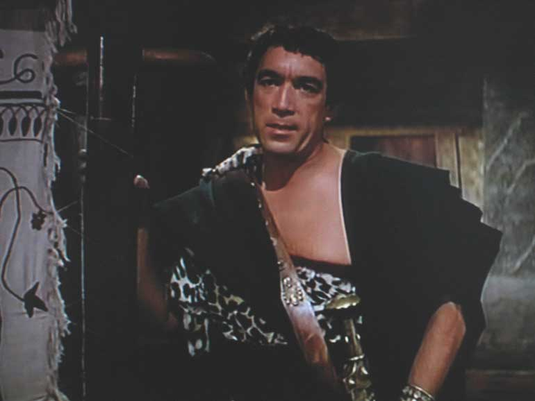 Anthony Quinn as Antinous (1955)