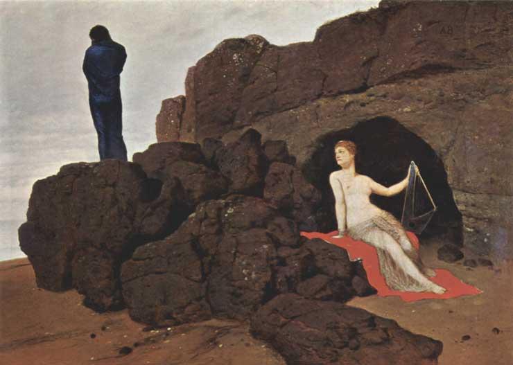 Ulysses and Calypso, Arnold Bocklin