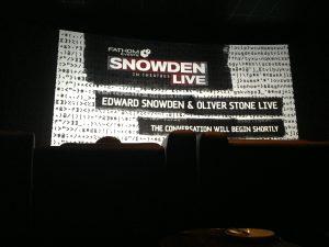 Post Snowden Movie Interview