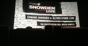 Post Snowden Movie Interview