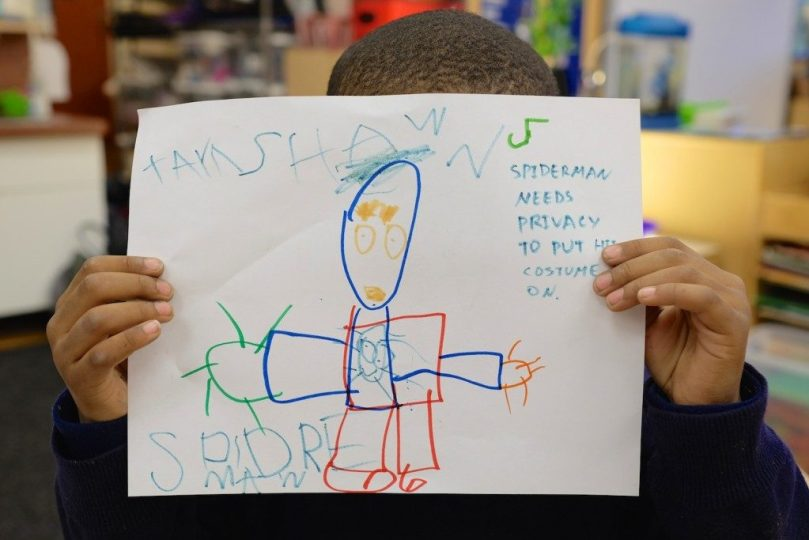 Children draw about data privacy