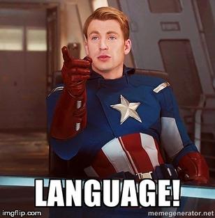 Captain America Language
