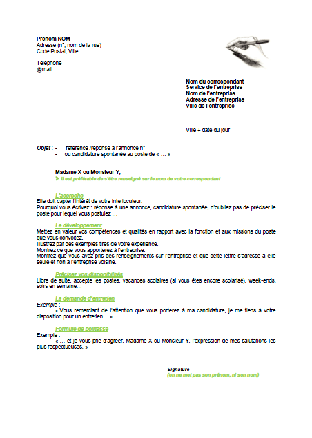exemple cv mission locale vierge