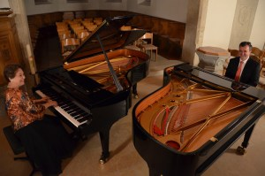 Concert on two Grand Piano - Kirche Bözberg