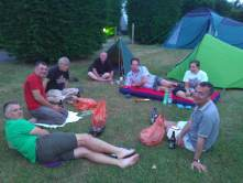 A pleasant evening at the campsite in Fernwood.