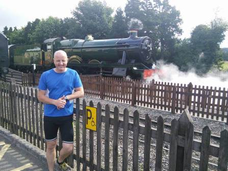 Steam Railway at Toddington,.