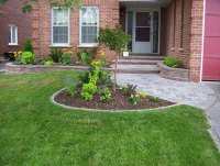 Front Entrance Landscaping, Front Yard Landscaping ...