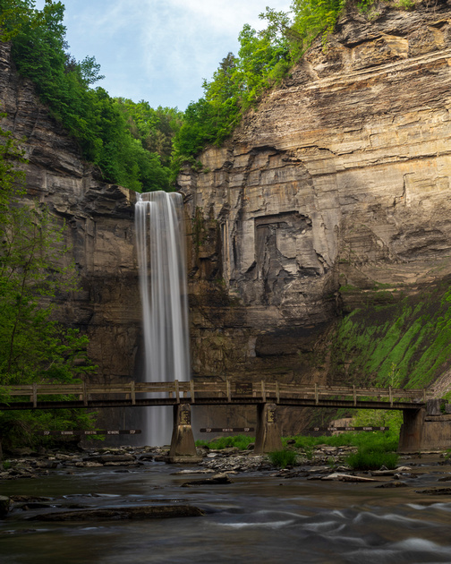 MLCreations Photography: Taughannock Falls &emdash; Taughannock Falls and the Bridge