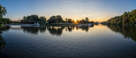MLCreations Photography: Landscapes &emdash; Mohawk Meets Barge Canal