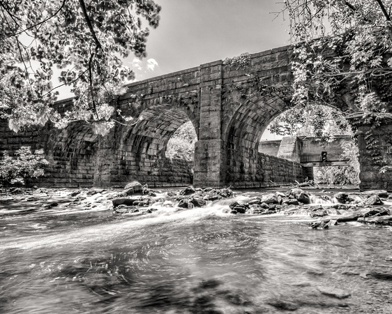 MLCreations Photography: Monochrome &emdash; Butternut Creek Aqueduct - BW