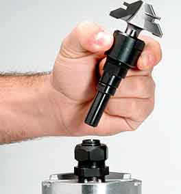Harbor Freight Trim Router Collet
