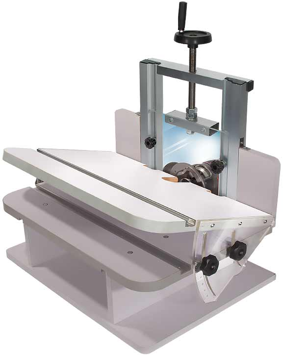 Vertical Router Sled Plans
