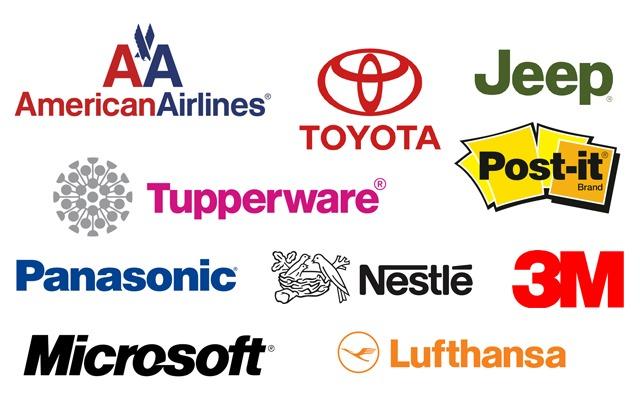 Logotipos con Helvetica