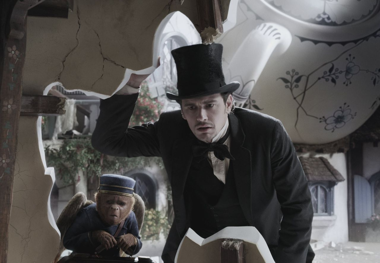 Review: 'Oz the Great and Powerful' thick with director Sam Raimi's gonzo flourishes. thin on character - mlive.com